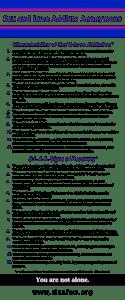 Characteristics/Signs Combo Banner