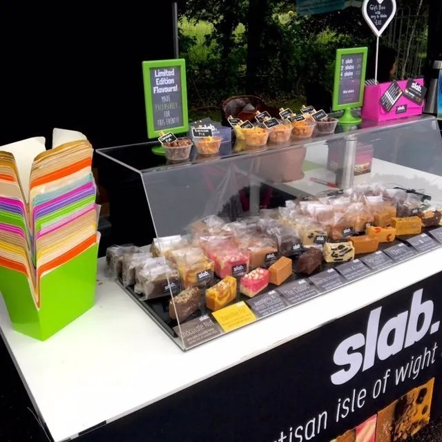 Slab Artisan Fudge Stall - I Love Wight Market, May
