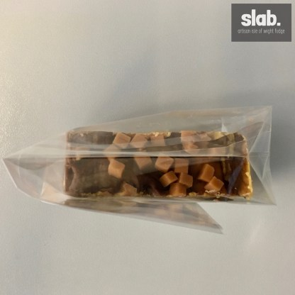 Choc Toffee 150g Slab - Top