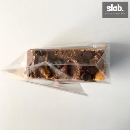 Vegan Choc Toffee Slab Top