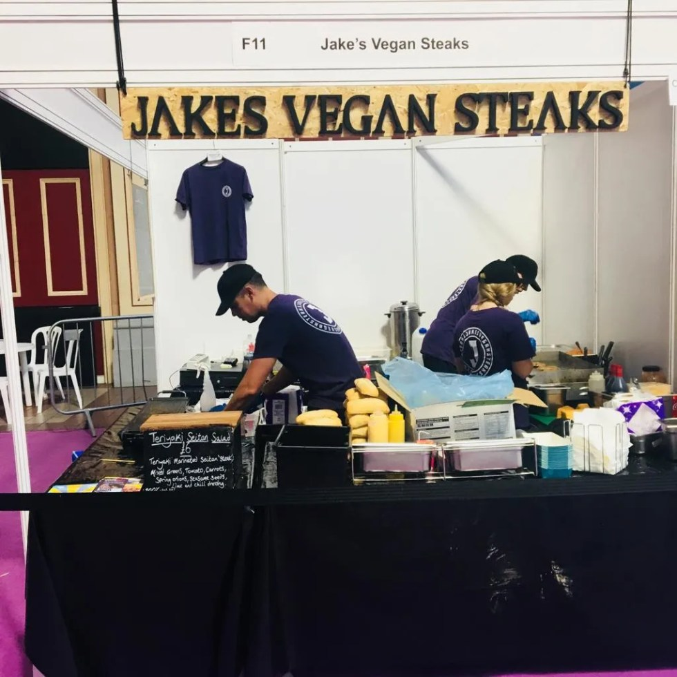 Slab @ Vegan Life Live, London 10