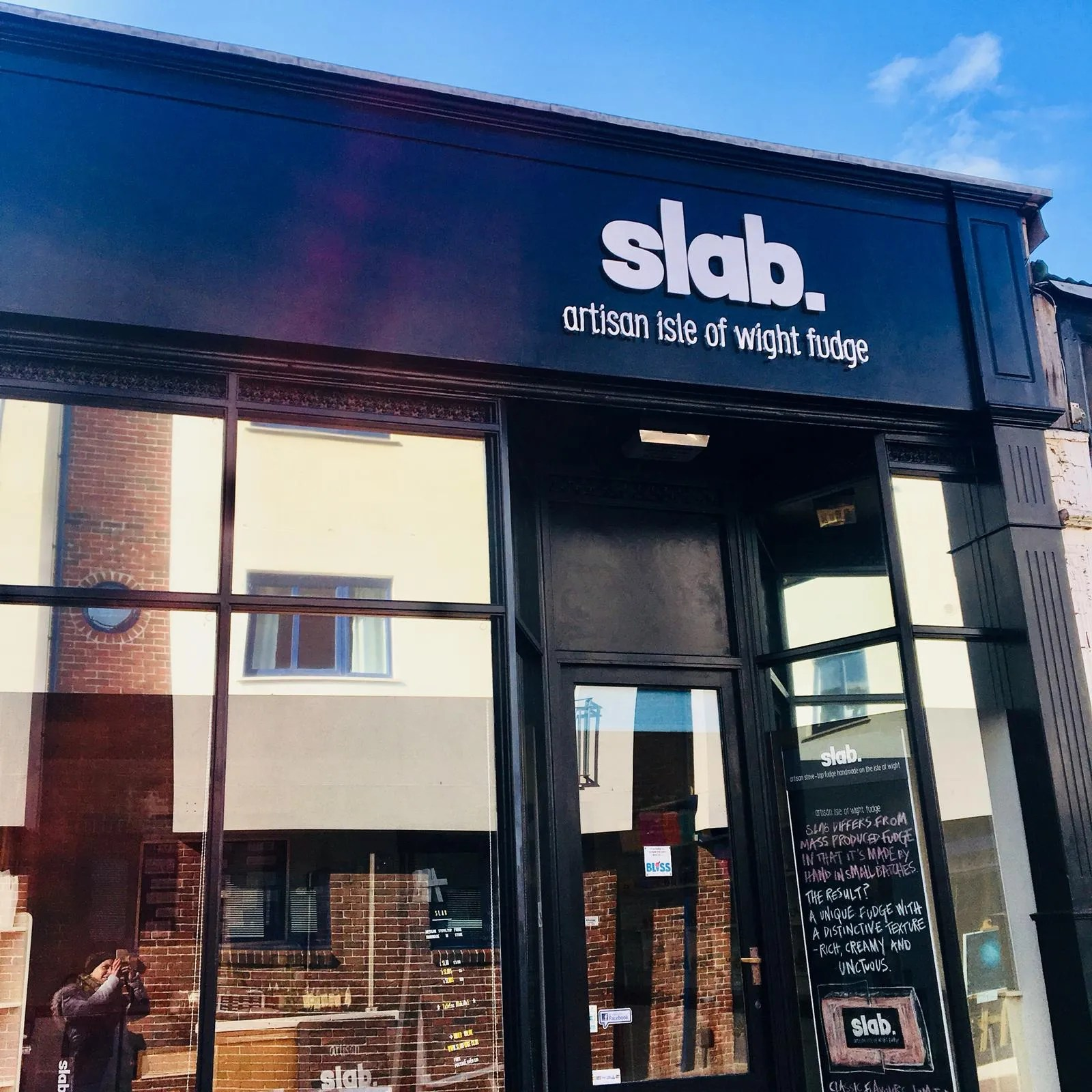 Slab Artisan Fudge Shopfront