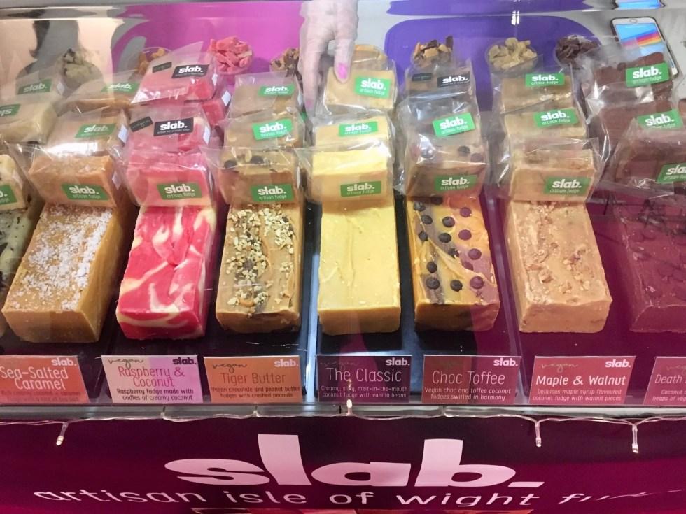 Slab Artisan Fudge - Vegan Life Live Manchester 2