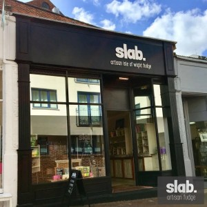 Slab Artisan Fudge - Shopfront