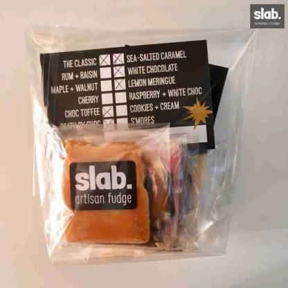 Slab Artisan Fudge - Mini Bag Front Flat