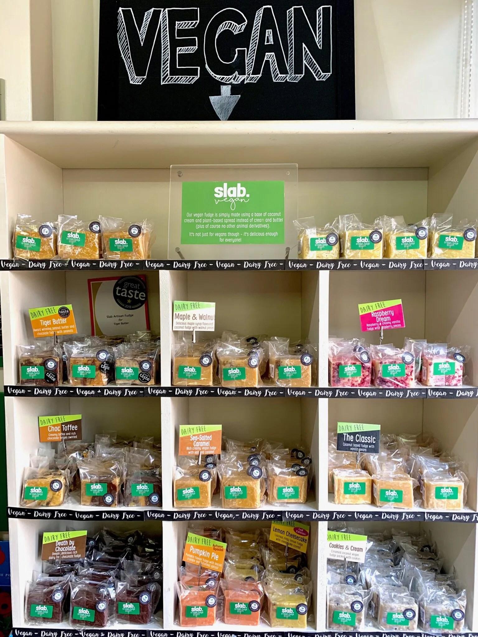 Slab Artisan Fudge - Shop Shelves Vegan Image 1