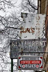 Old Yuns Sign