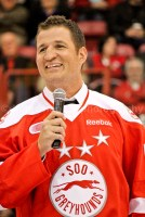 Stanley Cup champ and Olympic gold medalist Adam Foote