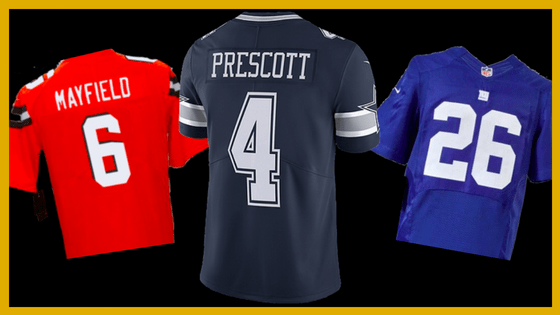 quality design 7777a f5f91 Top Selling NFL Jerseys: Saquon Barkley Has The Top Spot ...