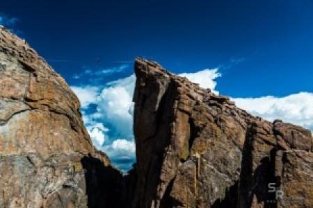 Scott Rogers - Longs Peak highline Scott Turpin