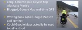 'Google Maps Journey Immersion' GISRUK 2013 Conference Paper & Presentation