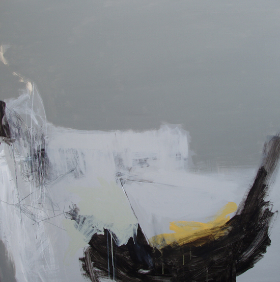 Change of Direction Angela Charles acrylic and coloured pencil on aluminium panel 1m x 1m £1,850