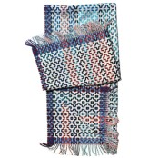 Margo Selby lambswool throw 'Whitstable' £275