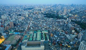 To give you an idea of the density and driving conditions in the city, this photo was shot from the observation deck of the Sunshine 60 building in Ikebukuro, Tokyo, Japan