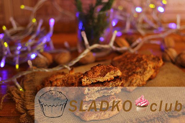 Печенье для детей аллергиков из рисовой муки