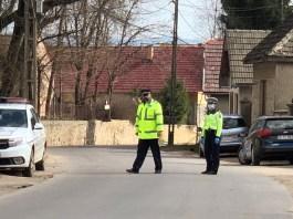 Rendőrségi ellenőrzés koronavírus idején