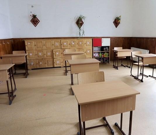Üres osztályterem