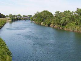 Olt folyó Sepsiszentgyörgyi szakasza