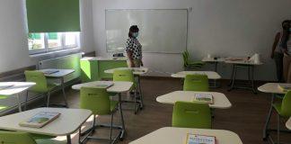 Korszerű osztályterem Sepsiszentgyörgyön