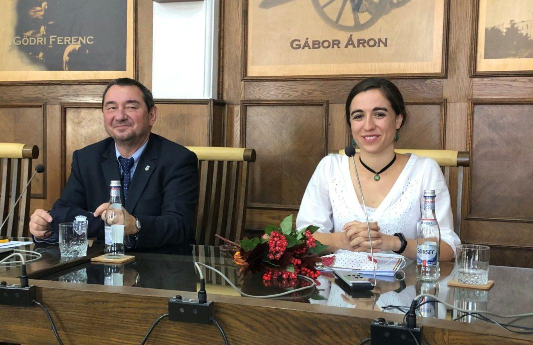 Tóth Birtan Csaba és Vargha Fruzsina