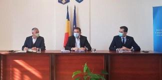 Tamás Sándor, Cseke Attila és Antal Árpád
