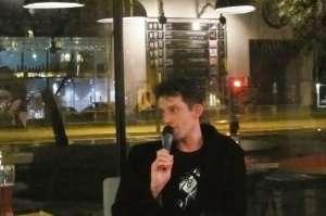 Jacek Ozaist w Stacji Grochów