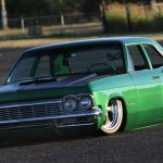 Family Four Door Jason Haase S Bodied 1965 Impala Slam D Mag