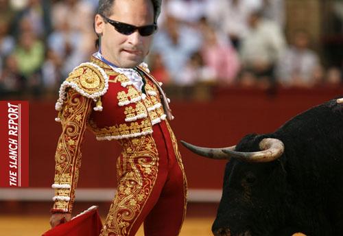 Vizquel Bull Fight