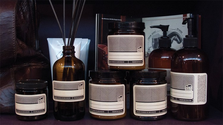 BKc candle & lotion labels