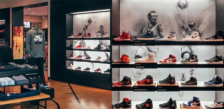 Footwear wall details