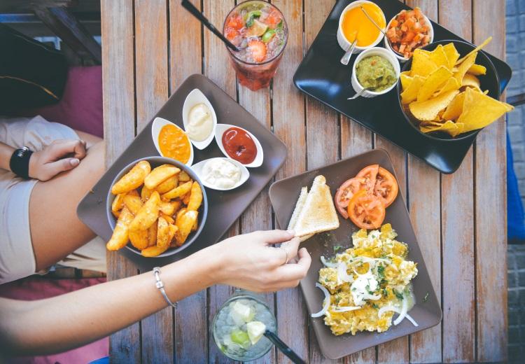 caloriearm uit eten