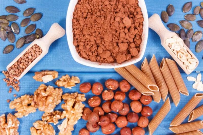 vezels voedingsmiddelen