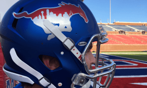 "SMU Football Unveils ""Dallas Strong"" Uniforms Vs TCU"