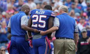 Bills RB LeSean McCoy Absent From Thursday Practice