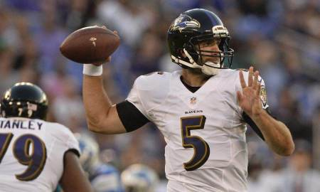 No Practice For Ravens QB Joe Flacco On Wednesday