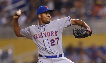 Mets Pitcher Jeurys Familia Charge
