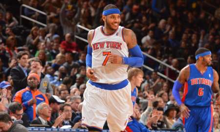 Knicks Go For Back To Back Wins Vs. Pistons Tonight