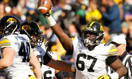 Jaleel Johnson, Iowa