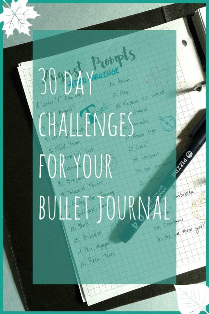 30DayChallengesForYourBulletJournal