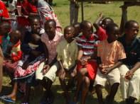 Children in their Sabbath School Class.