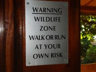 Walk out your own risk!!