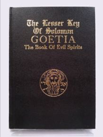 The lesser key of solomon is one of many Cursed Books You Should Never Read