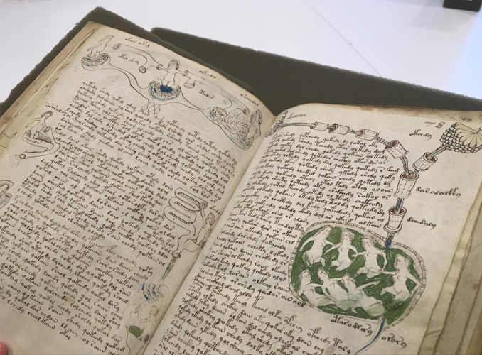 The Voynich Manuscript is one of many Cursed Books You Should Never Read