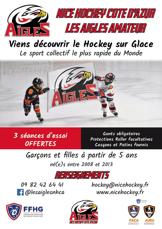 Flyer Nice Hockey Côte d'Azur