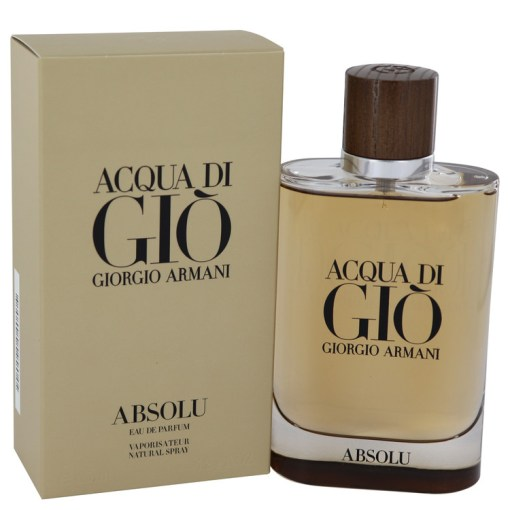 Acqua Di Gio Absolu Cologne by Giorgio Armani Eau De Parfum Spray 4.2 fl. oz. (125 ml)