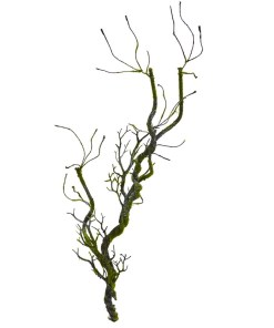 """Nearly Natural 6227-S4 43"""" Moss Twig Vine Artificial Plant (Set of 4)"""