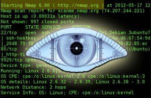nmap network hacking tool
