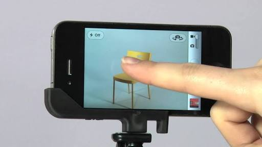 iPhone Hacks & Tricks - Click while you shoot.