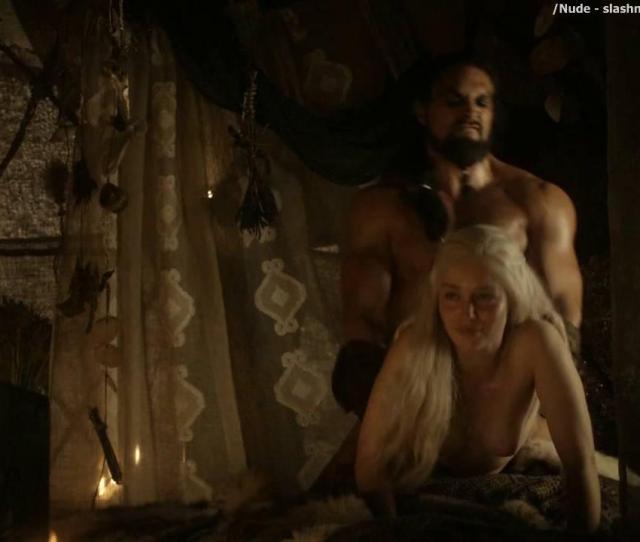 Emilia Clarke Nude Sex Scene In Game Of Thrones Series Scandalplanetcom 10