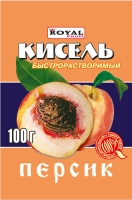Кисель Быстрорастворимый в ассортименте 100 гр (Роял Фуд) 9